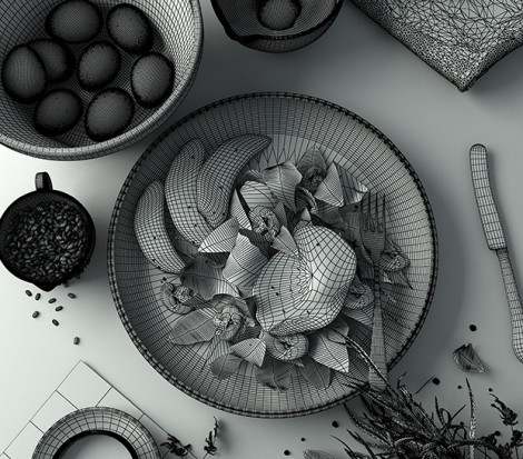 Realistic Food Challenge By Chaosgroup | Learn V-Ray