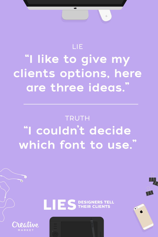 Designer Lies 8