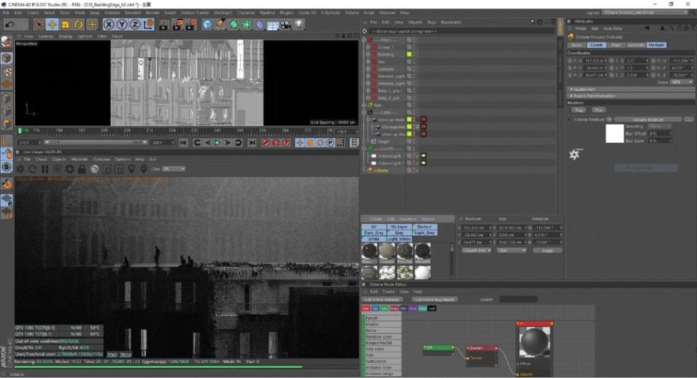 """Miscelazione di C4D, Charcoal e Cel Animation per """"Last I Heard"""" di Thom Yorke - C4D Building"""