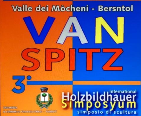 Simposio di scultura Van Spitz Val dei Mocheni 1