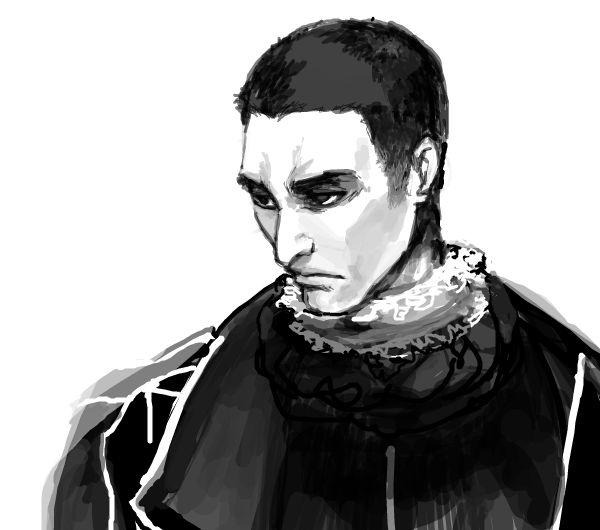 Un ritratto di Machiavelli.