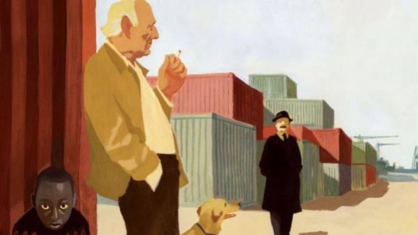 """Un'illustrazione di """"Miracolo a Le Havre"""" tratta da film.it."""