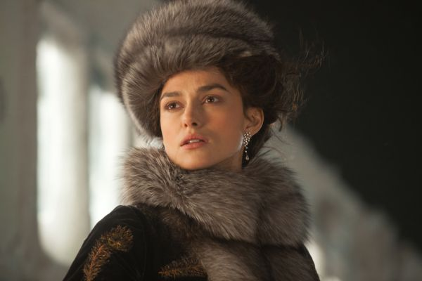 Keira Knightley interprete di Anna Karenina.