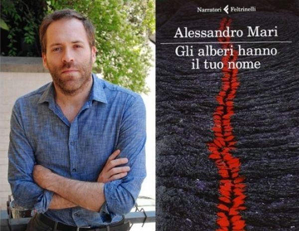 Alessandro Mari e il suo libro.