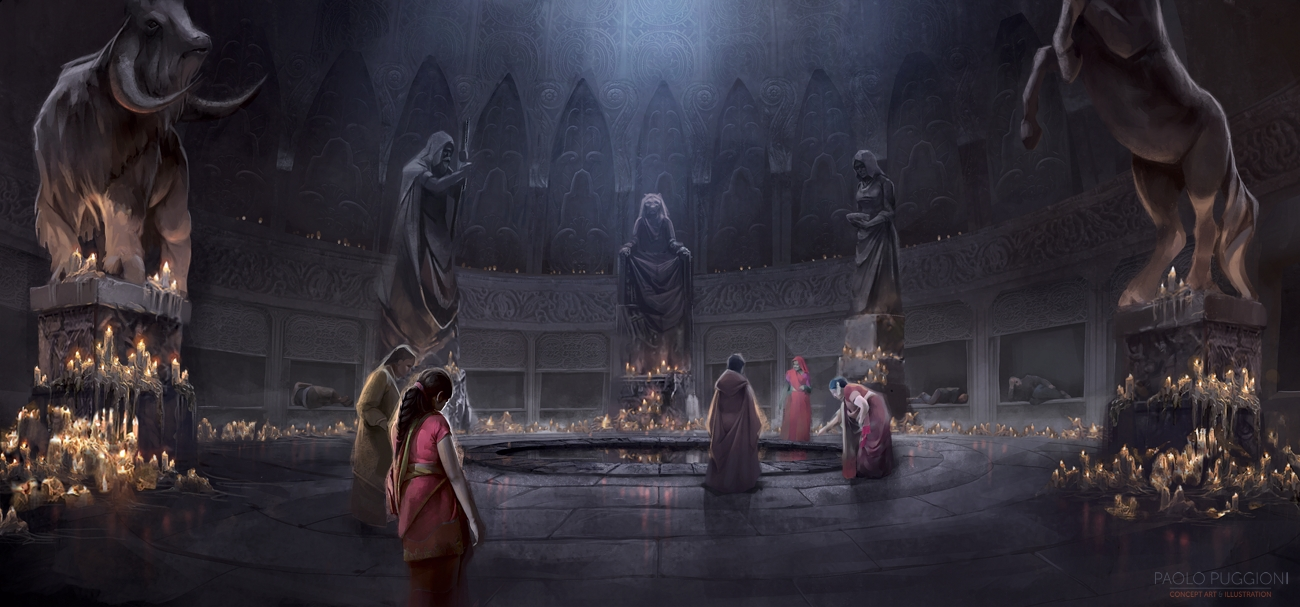 GAME OF THRONES Paolo Puggioni Concept Art