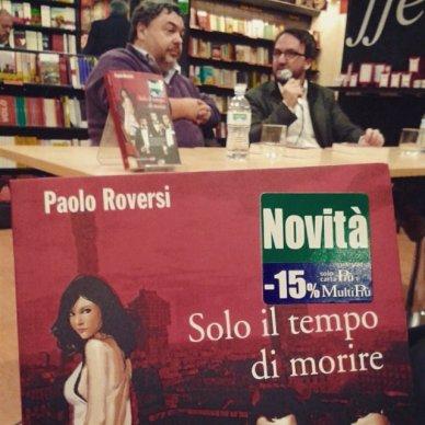 Luca Crovi e Paolo Roversi