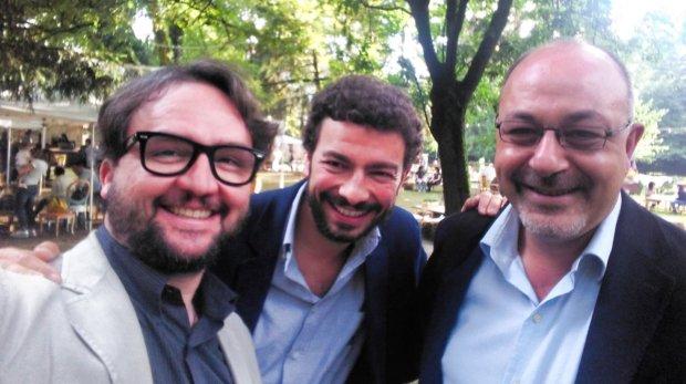 Roversi, Polidoro e Ricciardi al Festival delle Basse 2016