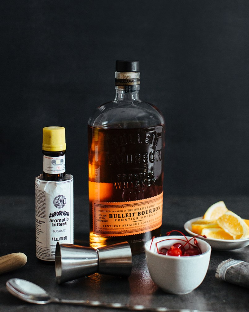Bulleit Old Fashioned Recipe Ingredients