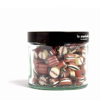 coffee candy in a 200gr jar