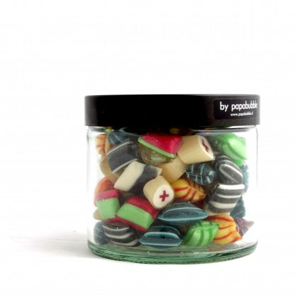 pillow fight candy in a 200gr jar