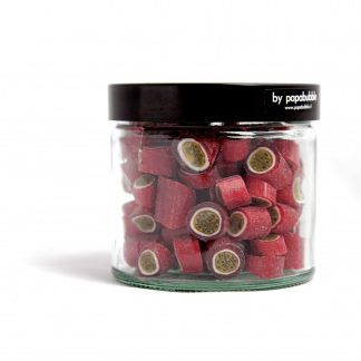 passion fruit candy in a 200gr jar