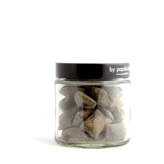 licorice candy in a 70gr jar