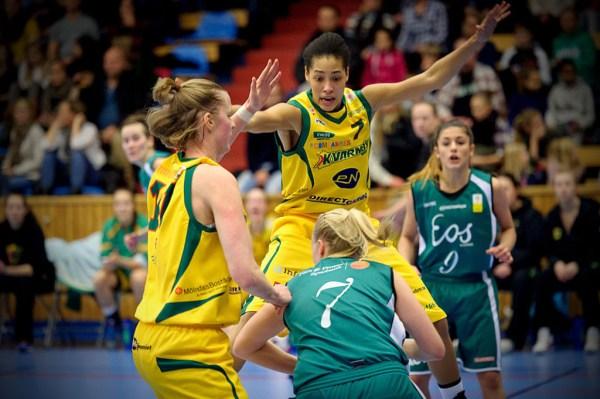 Basketligan Dam, Kvarnby Basket-Eos Lund, Aktiviteten Mölndal