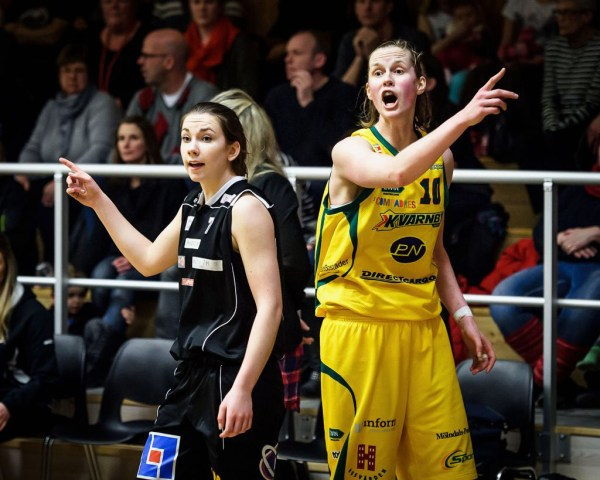 Basketligan Dam, slutspel grupp 2, Mark Basket-Kvarnby Basket, Kinnahallen