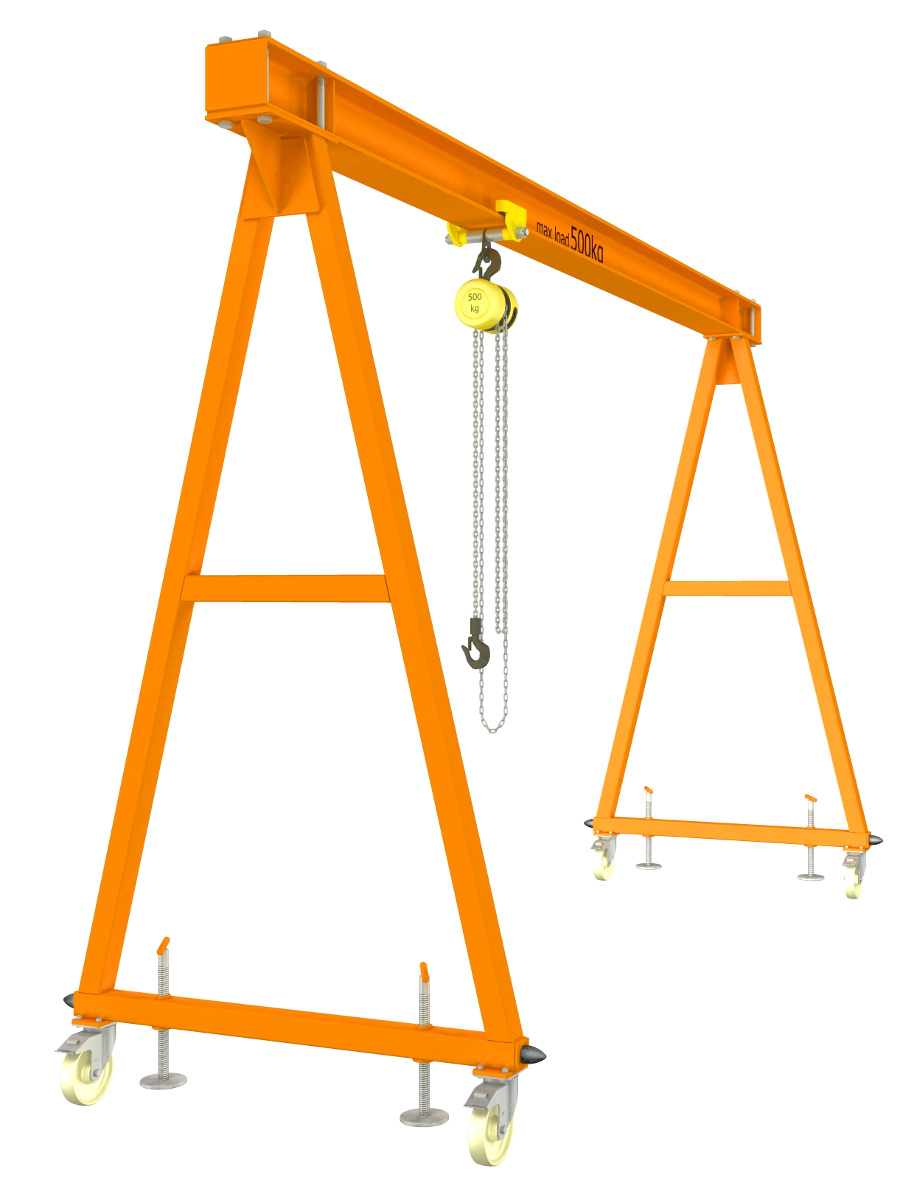 hight resolution of gantry crane plans