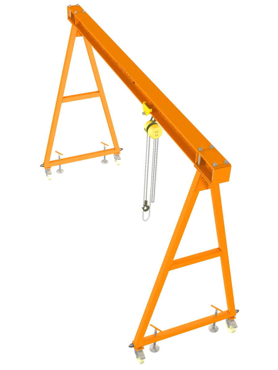 medium resolution of gantry crane plans diy