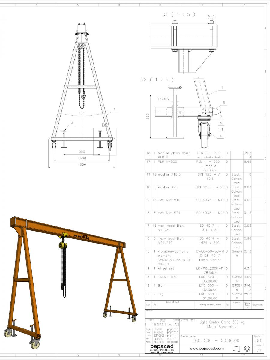 medium resolution of diy gantry crane gantry crane plans
