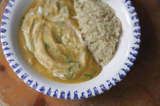 sopa de cenoura, couveflor, tahine2