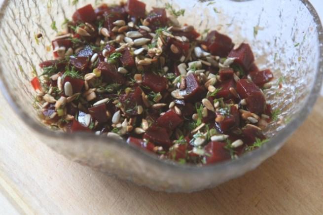 salada beterraba endro