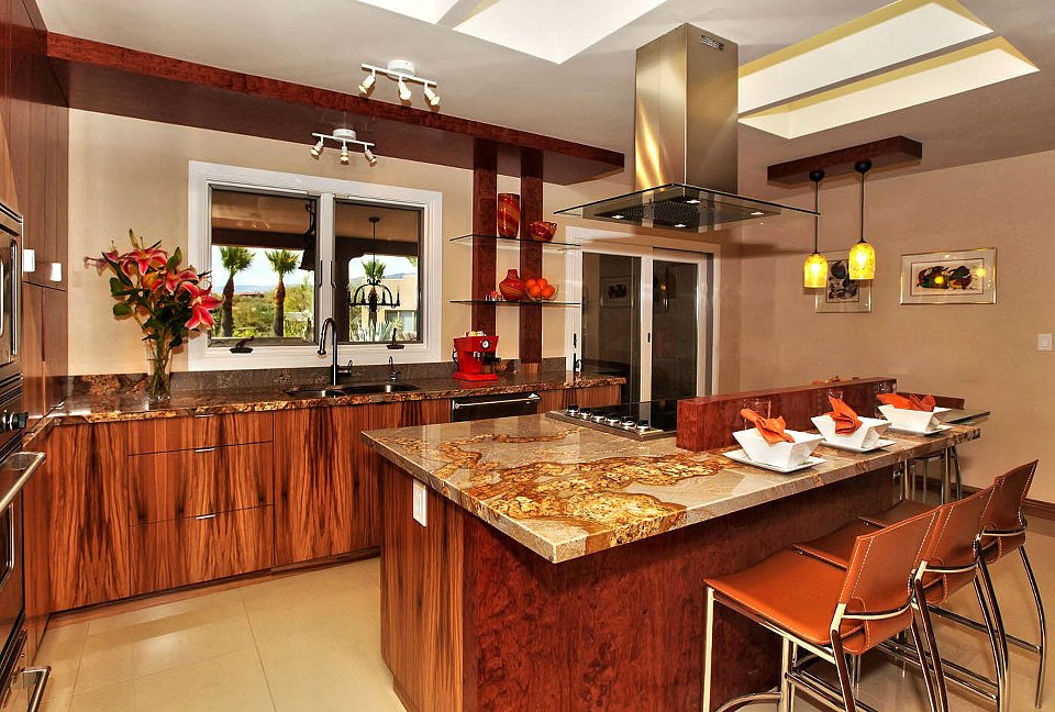 granite kitchen countertops pictures utensil caddy phoenix arizona marble and papagnos scottsdale