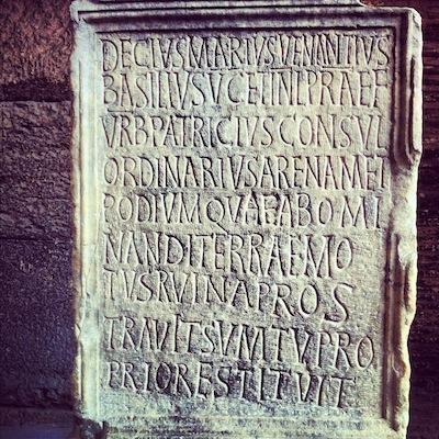 курьез: DECIUS MARIUS VENANTIUS BASILIUS