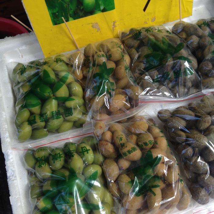 Местные оливки