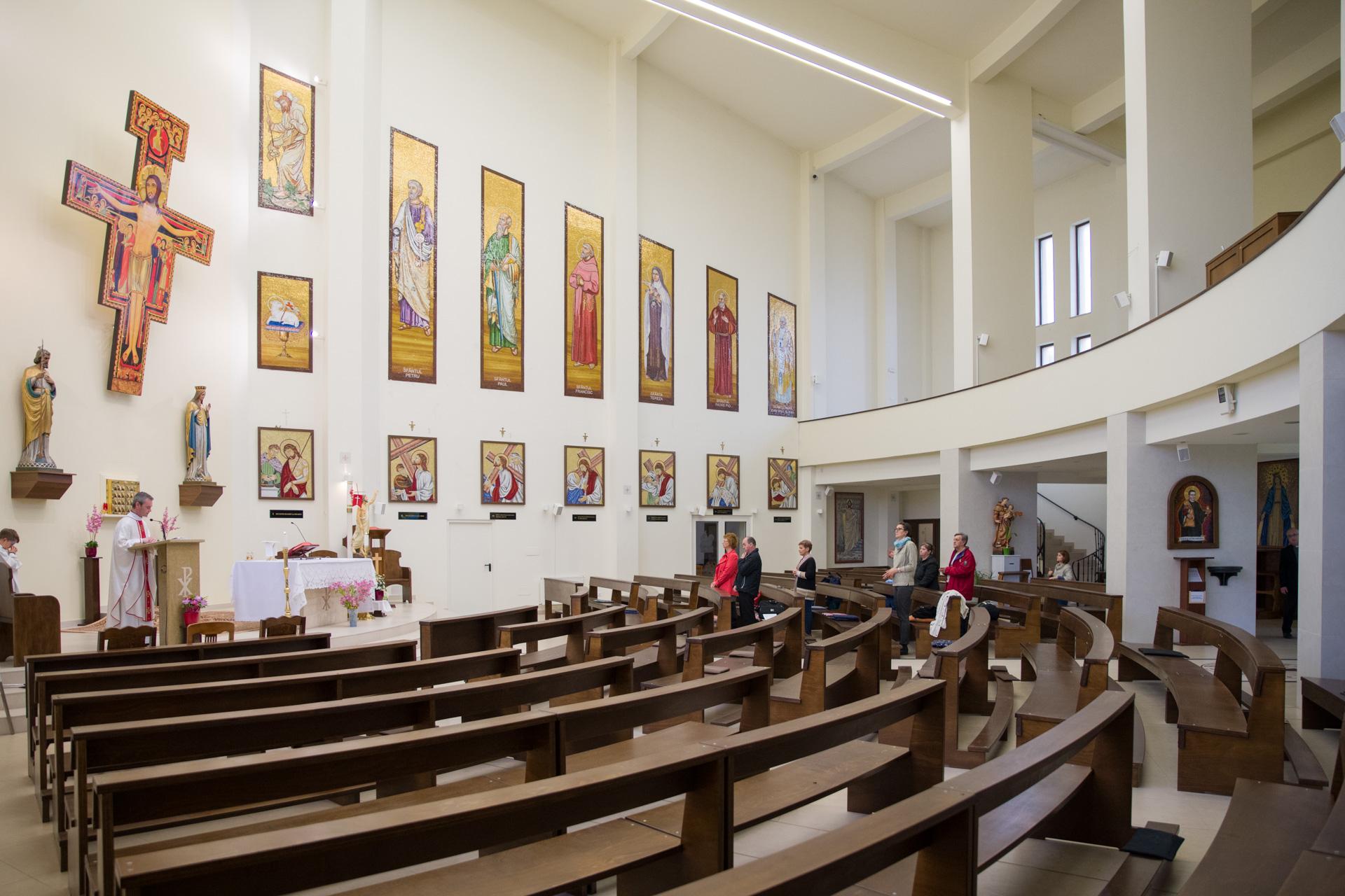 Sfântul Francisc, biserica de pe Lacul Morii | VIDEO