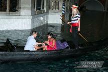 Chase And Leah' Las Vegas Venetian Hotel Surprise Gondola