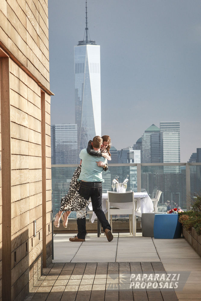 NYC Proposal Ideas Colin's Rooftop Apartment Proposal