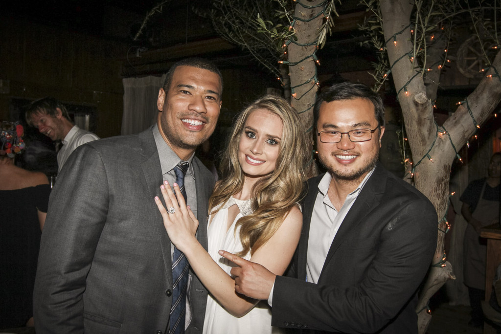 Paparazzi Proposals Shoots Michael Yo Of CBS' The Insider