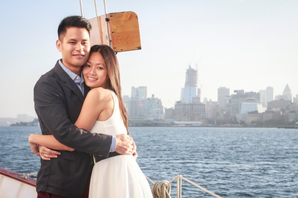 Adrian' Nyc Sailboat Marriage Proposal