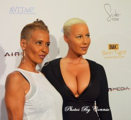 Sister Code Amber Rose and Mother