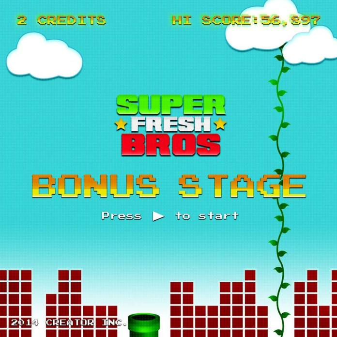 Track: Super Fresh Bros - Bonus Stage