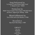 New Music: Malik Yusef – Last Call Featuring Mekke'l Marshae | @MalikYusef