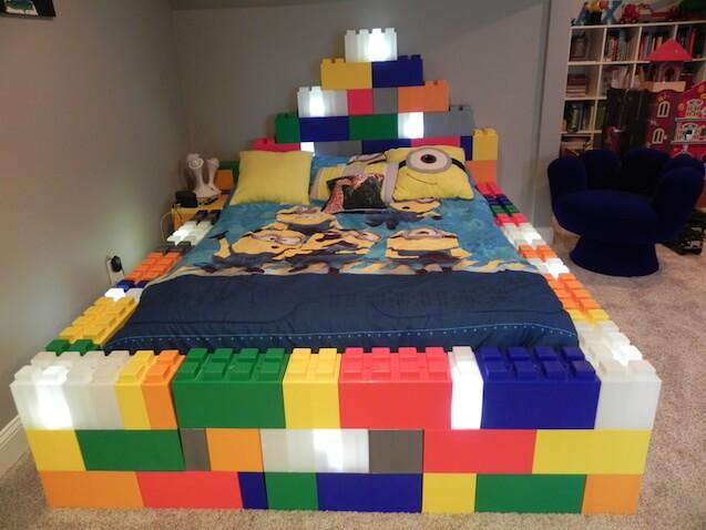 Construir con Lego a lo grande