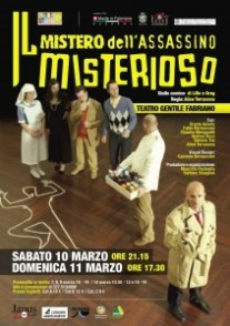 Manifesto Il mistero dell'assassino misterioso
