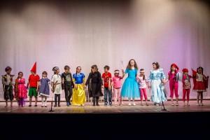 I Bambini Salutano il Pubblico (Foto: Matteo Mingo)