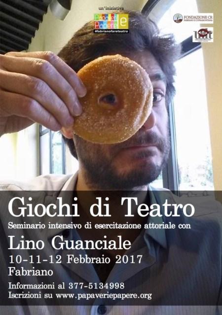 Seminario con Lino Guanciale