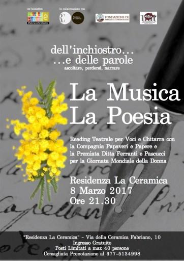 readings Musica Poesia