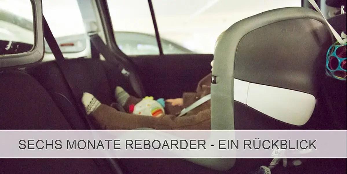 unterwegs im Reboarder Kindersitz