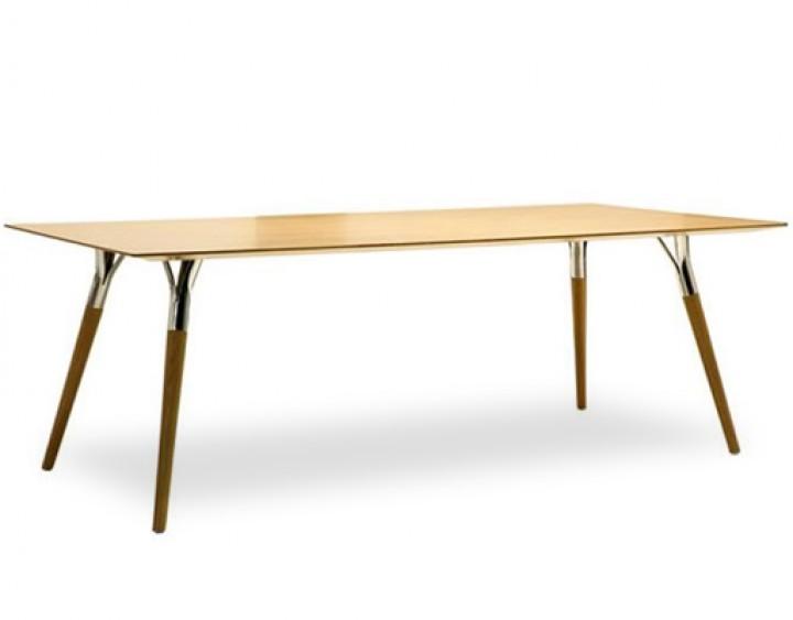 TONON SALT  PEPPER 843  Design Tisch aus Nussbaum Eiche  PapeRohde  Broeinrichtungen