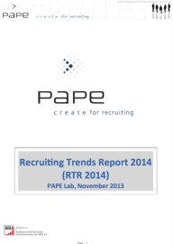 recruitingstudie 2014