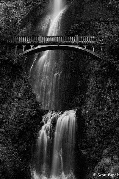 Lord Of The Rings Multnomah Falls Oregon Scott Papek