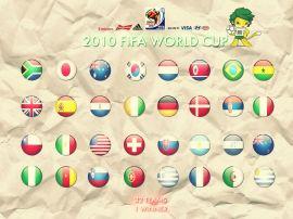 Papel de parede 'Copa do Mundo - Países'