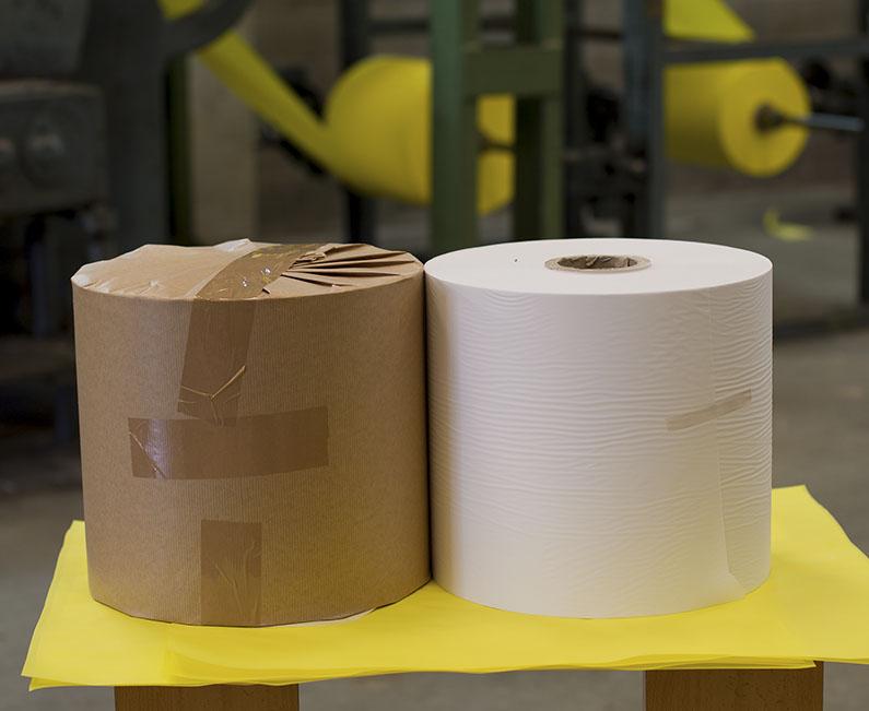 imagen de bobinas de papel sulfurizado
