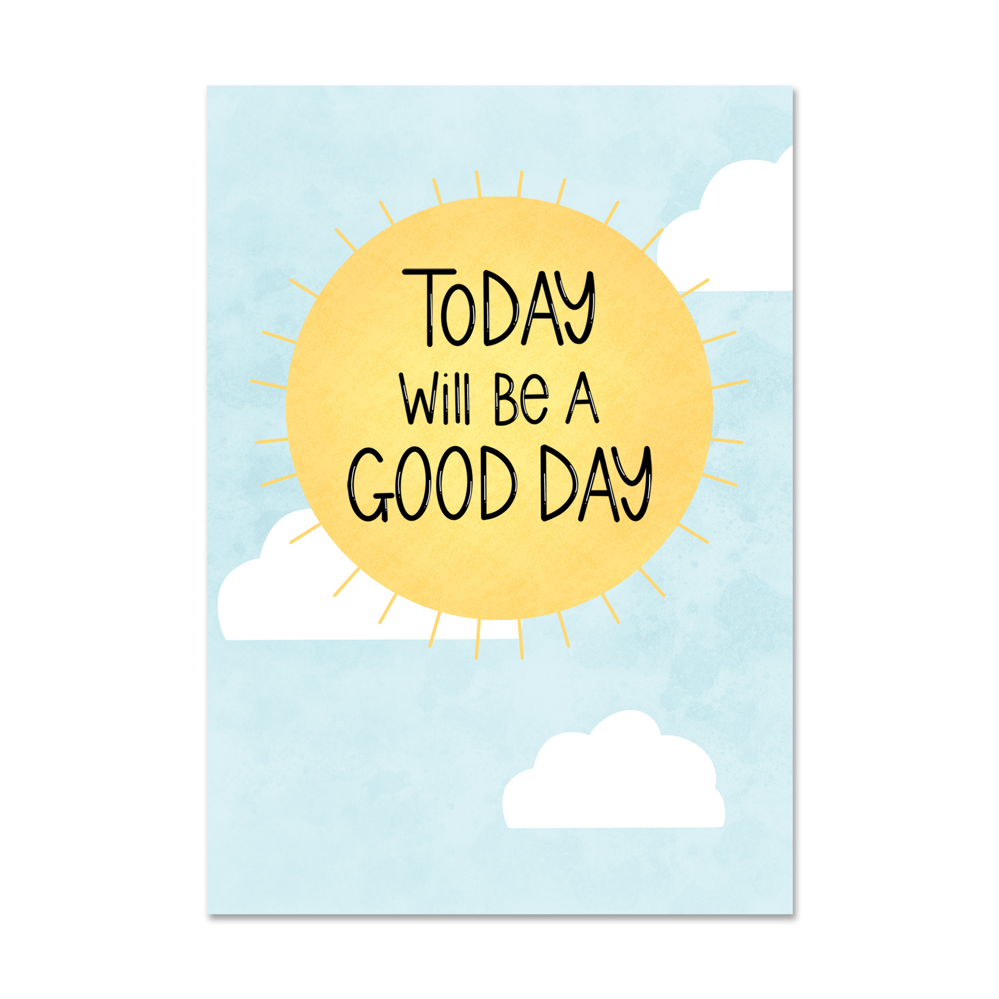 Good Day Postcard