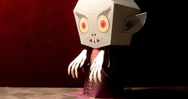 Paper model de Nosferatu el Vampiro.