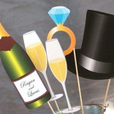 Wedding Printable Photo Booth Props