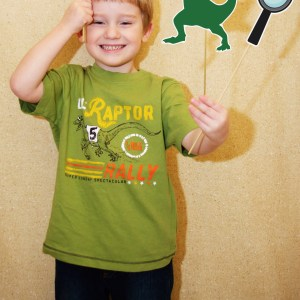 Dinosaur printable photo props