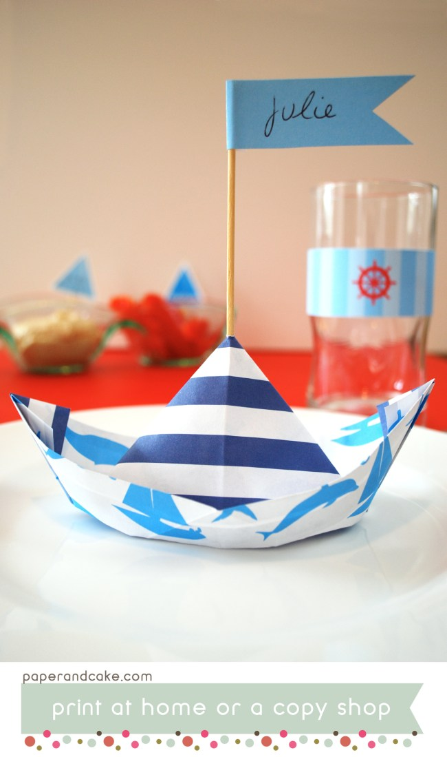Sail Away Nautical Printable Party